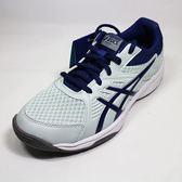 [陽光樂活=] 亞瑟士 ASICS 低筒 排羽球鞋 Upcourt 3 -1072A012-401 深藍x淺綠