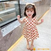 女童夏裝連衣裙新款韓版洋氣兒童裙子小童女寶寶公主裙夏季潮【小橘子】