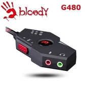 [富廉網]【A4 雙飛燕】G480 耳機控音寶盒