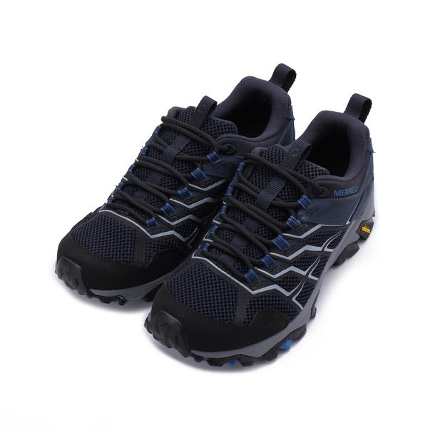 MERRELL MOAB FST 2 GORE-TEX 防水戶外鞋 深藍 ML034211 男鞋 登山│健行│郊山│越野│多功能
