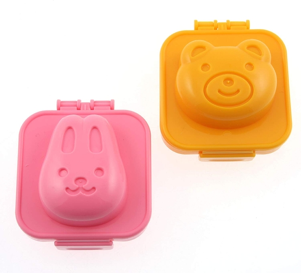 日本 小久保工業所 deLijoy 兔子 熊 蛋 造型蛋盒 卡通模具 料理 午餐【1288】
