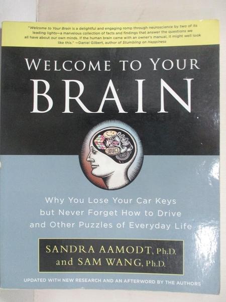 【書寶二手書T1/科學_EGX】Welcome to Your Brain: Why You Lose Your Car…