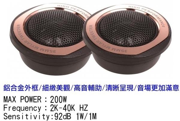 ACECAR 奧斯卡 AC-T25K 200W 高音喇叭 輔助音場 細緻造型 鋁合金外框 優質清晰