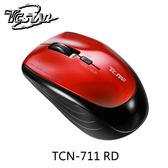 連鈺 TC.STAR TCN-711 紅色 無線藍牙藍光滑鼠