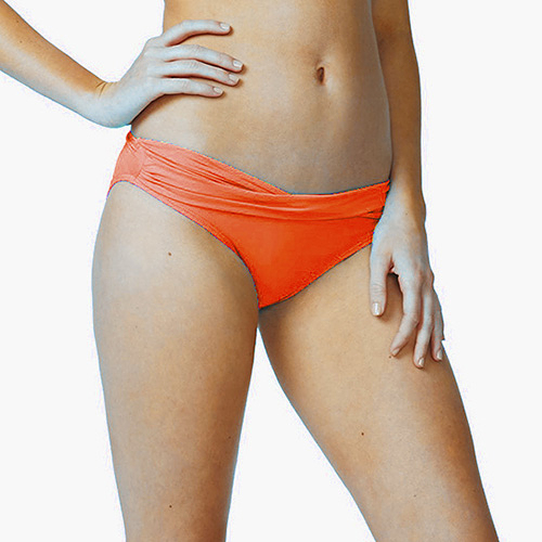 Moontide 知名進口泳裝品牌 TWIST PANT 比基尼褲 - 女(橘)