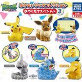 全套5款【日本正版】精靈寶可夢 桌上小物 P3 扭蛋 轉蛋 第3彈 辦公小物 神奇寶貝 - 872501