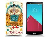 ♥ 3C膜露露 ♥ { 貓頭鷹*水晶硬殼} LG G4 手機殼 保護殼 手機套 保護套