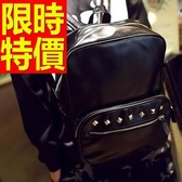 後背包-高貴韓版氣質皮革男女-雙肩包-1款59ab39【巴黎精品】