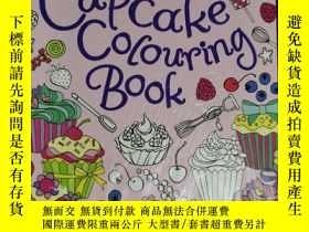 二手書博民逛書店the罕見cupcake colouring book 兒童讀物 英文版Y42402