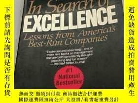 二手書博民逛書店IN罕見SEARCH OF EXCELLENCEY273906