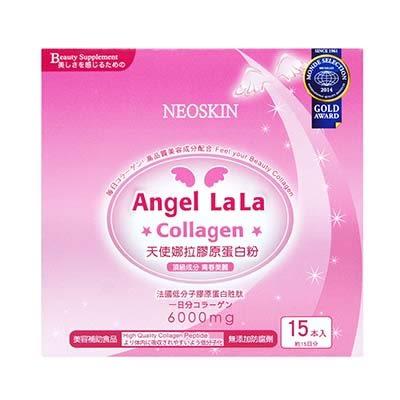 【Angel LaLa天使娜拉】膠原蛋白粉(15包/盒)買1送1加贈3條