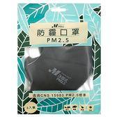 淨舒式 PM2.5防霾口罩-黑 3入/袋