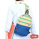 CHUMS SxN 休閒肩背包-彩色條紋 【GO WILD】