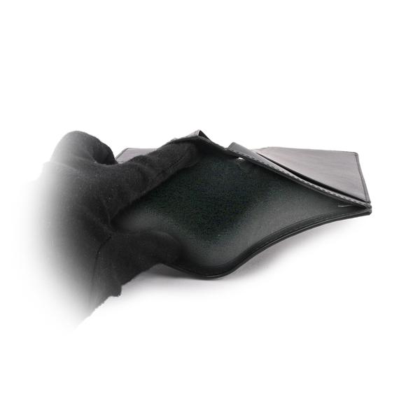 【COACH】PVC LOGO薄款護照長夾(炭灰色) 91663 QBO4G