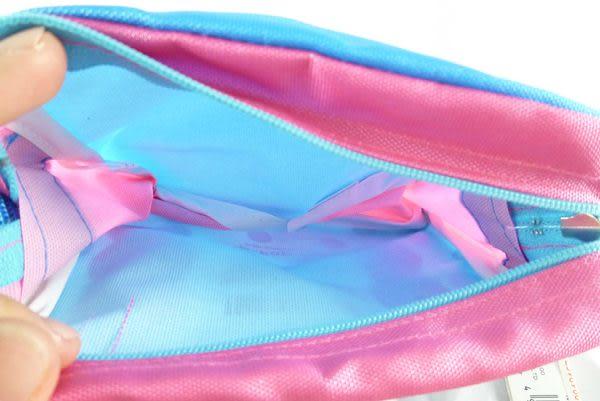 【震撼精品百貨】粉色小兔~塑膠防水化妝包『藍底白點』