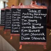 小號桌面立式小黑板之家 店鋪吧台支架式廣告板 家用留言板記事板 卡布奇诺HM