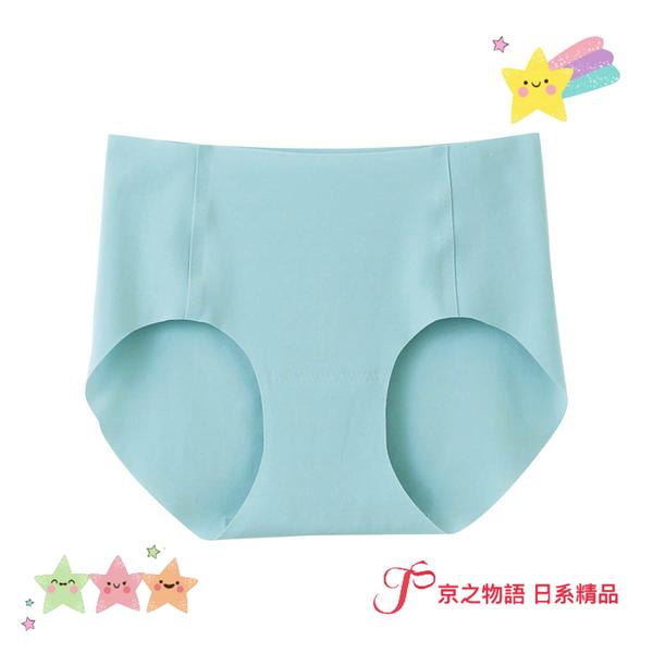 【京之物語】現貨-日本製造Tuche完全無縫製綠色女性舒適無痕三角內褲M號