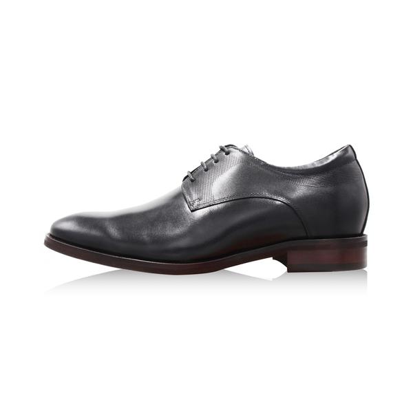 W&M(男)造型紋商務內增高皮鞋 男鞋 - 黑(另有咖)