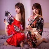 情趣內衣性感日式印花和服新娘小胸大碼睡衣制服誘惑激情套裝sm騷