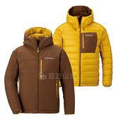 【Mont-Bell 日本 男款650FP雙面連帽外套 卡其/芥黃】 1101492/羽絨外套/夾克/羽絨衣/保暖外套★滿額送
