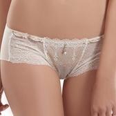 【LADY】夢幻城堡系列 低腰平口褲(純潔白)