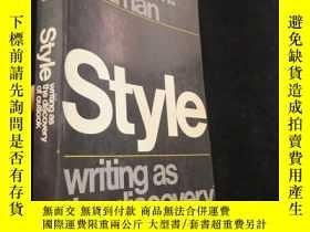 二手書博民逛書店Style罕見Writing as the Discovery
