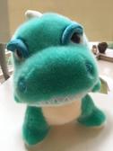 可愛萌呆綠色小恐龍公仔,柔軟毛絨玩具小朋友生日禮物