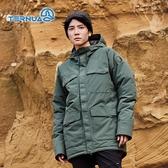 TERNUA 男GTX防水透氣連帽保暖外套1643044  ( 登山 露營 旅遊健行 風衣防水 )