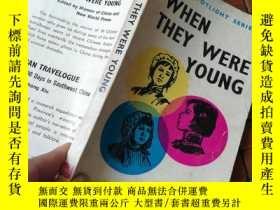 二手書博民逛書店When罕見they were youngY206777 見圖