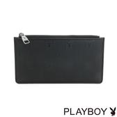 PLAYBOY- 卡片夾 黑夜爵士系列-爵士黑