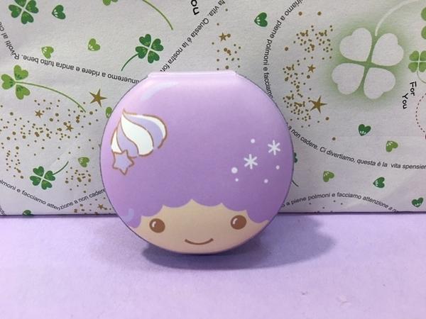 【震撼精品百貨】Little Twin Stars KiKi&LaLa 雙子星~螢幕擦附便條-奇奇紫