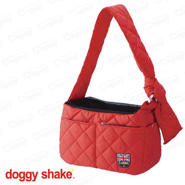 狗日子日本《Doggy Shake》大不列顛輕背袋M號 袋鼠包 網袋包 超好背!小型犬背帶/背袋