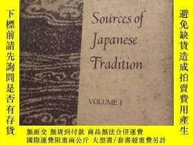 二手書博民逛書店Sources罕見of Japanese Tradition(v