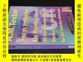 二手書博民逛書店Sag罕見es treffenderY5919