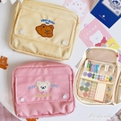 多功能大容量筆袋文具盒韓國簡約女生ins文具手賬素材膠帶收納包 黛尼時尚精品