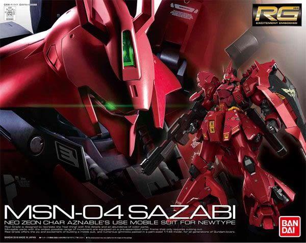 鋼彈模型 RG 1/144 沙薩比 Sazabi 逆襲的夏亞 029 TOYeGO 玩具e哥