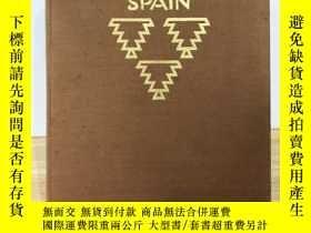 二手書博民逛書店【包罕見】Picturesque Spain,中文書名直譯:《風