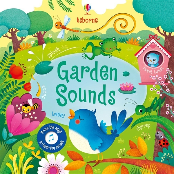 Touchy-Feely Sound Books:Garden Sounds 花園聲音 觸摸有聲書