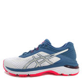 Asics GT-2000 6 [T855N-100] 女鞋 運動 慢跑 健走 休閒 緩衝 避震 省力 亞瑟士 白藍