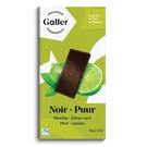 伽樂Galler70%萊姆薄荷醇黑巧克力80g【愛買】