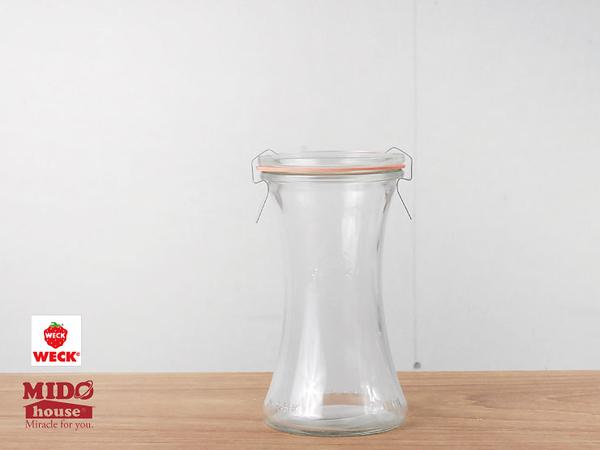 德國WECK玻璃密封罐#995 200ml 《Midohouse》