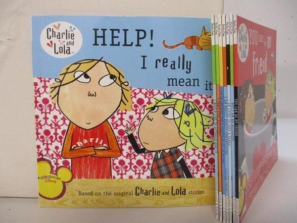 【書寶二手書T1/少年童書_GYK】Charlie and Lola-Help! I really mean it等_8本合售