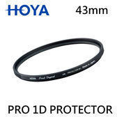 3C LiFe HOYA PRO 1D 43mm PROTECTOR FILTER 保護鏡