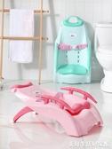 加厚兒童洗頭躺椅可摺疊嬰兒神器寶寶家用大號小孩躺著洗發床凳子ATF 三角衣櫃
