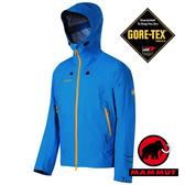 【MAMMUT 長毛象】Lanin 男 超輕Gore-Tex單件式連帽防水外套 深藍 1010-12160