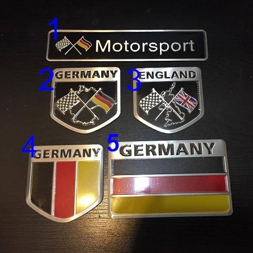 德國側標貼 車身貼 BMW BENZ AUDI VW PORSCHE MINI 貼紙 沂軒精品A0282