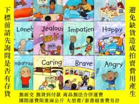 二手書博民逛書店英文原版閱讀教材罕見The Feelings 兒童繪本閱讀學習系