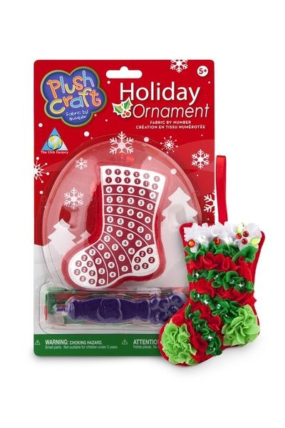 《The Orb Factory魔力球工廠》聖誕樹吊飾 禮物襪子 布布勞作(OF212)