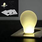 簡約卡片式LED卡片燈【省錢博士】攜帶方...