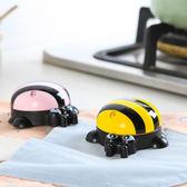 ♚MY COLOR♚迷你帶磁鐵蜜蜂計時器 鬧鐘 廚房 可愛 家用 倒計時器 蒸煮 烹飪 定時器【P388】